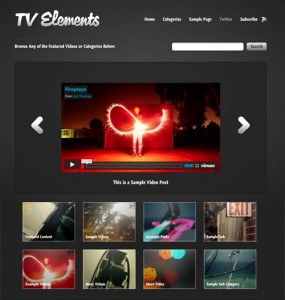 TV Elements WordPress Theme