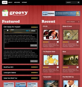 Groovy Video Theme