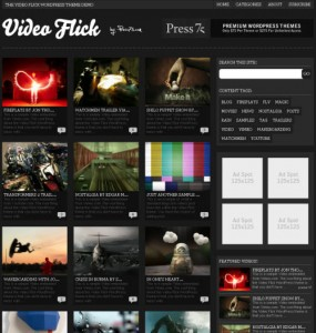 Video Flick 2.0 Theme