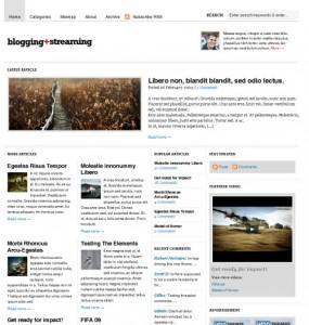 Bloggingstream Theme
