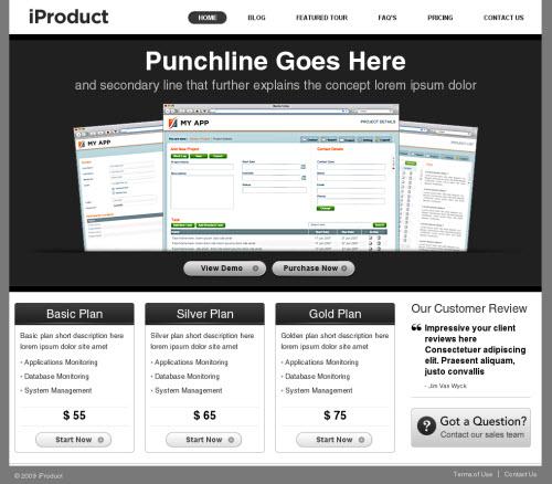 iProduct WordPress Theme