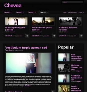 Chevez WordPress Theme