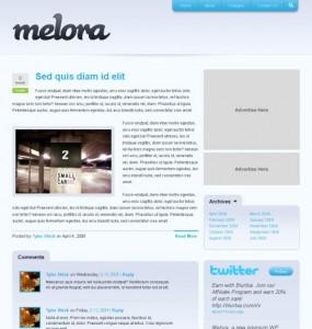 Melora WordPress Theme