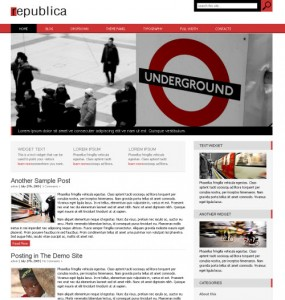 Republica WordPress Theme
