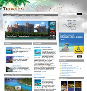 Traveler Magazine 3.0 Theme