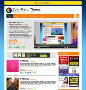 ColorMatic WordPress Theme