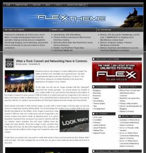 Flexx WordPress Theme