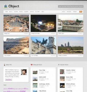 Object Multimedia Theme