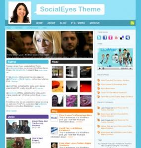 SocialEyes WordPress Theme