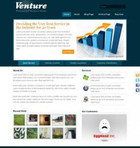Venture WordPress Theme