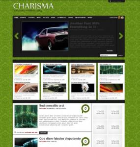 Charisma WordPress Theme