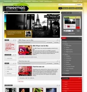 Mixxmag WordPress Theme