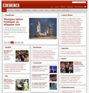 Beeb 3 WordPress Theme