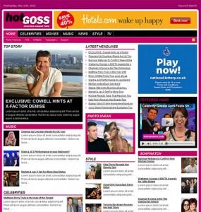 Hot Goss WordPress Theme