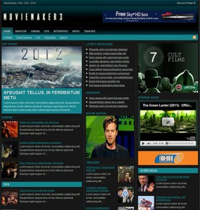 MovieMaker3 WP Theme