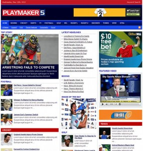 Playmaker 5 WP Theme