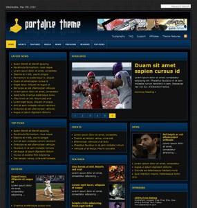 Portalize WordPress Theme