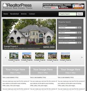 Realtor WordPress Theme