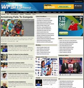 WPSN 3 WordPress Theme