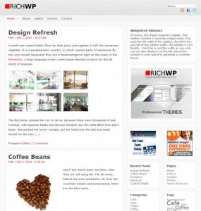 RichWP Theme Framework