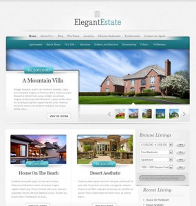 Elegant Real Estate Theme