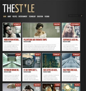 The Style Premium WordPress Theme