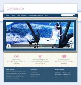 Celebrate WordPress Theme