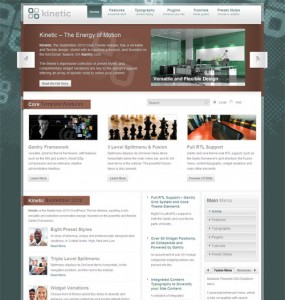 Kinetic WordPress Theme