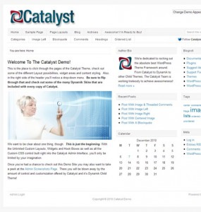 Catalyst WordPress Theme Framework