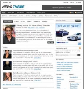 News 1.1 Premium WordPress Theme