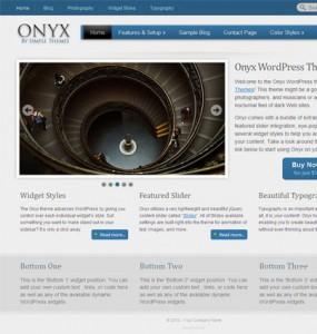Onyx WordPress Theme