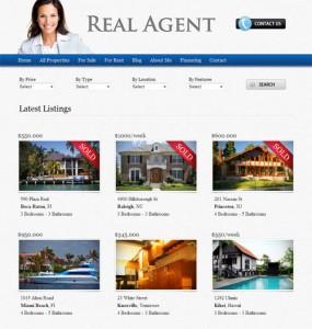 Real Agent Real Estate WordPress Theme