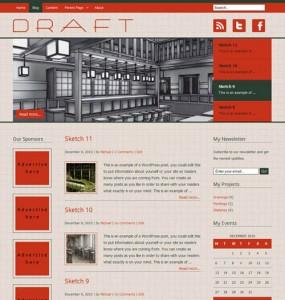 draft wordpress theme
