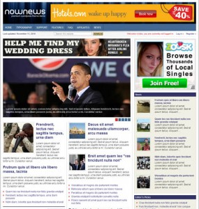 Now News Premium WordPress Theme
