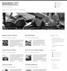 Minimalist Child Theme