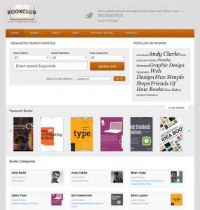 Bookclub WordPress Theme