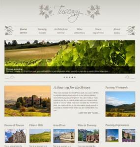Tuscany Premium WordPress Theme