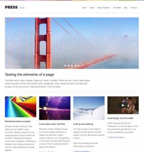 Press Two WordPress Theme