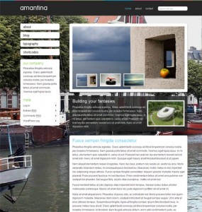 Amantina WordPress Theme