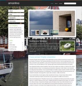 Amantina WordPress Theme