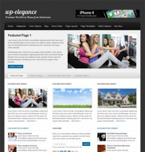WP Elegance Business WordPress Theme