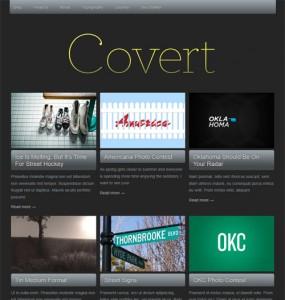 Covert WordPress Theme