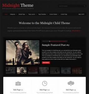 Midnight WordPress Theme