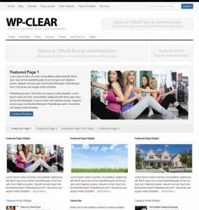 WP-Clear 2.0 WordPress Theme