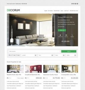 DeCorum Real Estate Theme