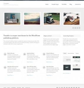 Transfer WordPress Theme