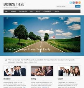 Business Premium WordPress Theme