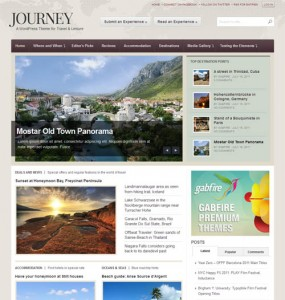 Journey WordPress Travel Theme