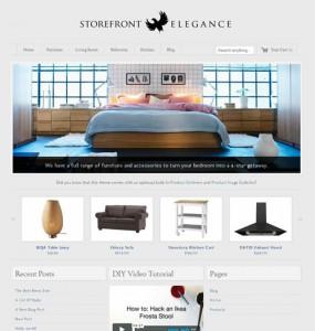Storefront Elegance Ecommerce WordPress Theme