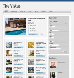 The Vistas WordPress Real Estate Theme